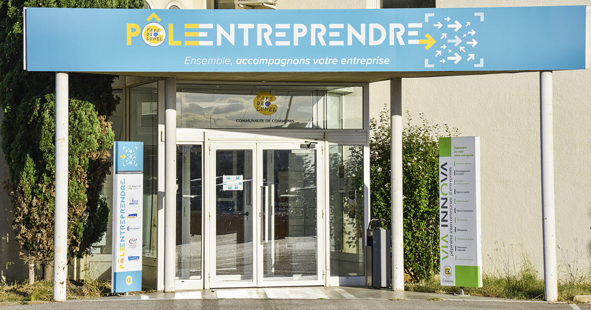 Devanture Pole Entreprendre