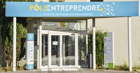 Devanture Pole Entreprendre