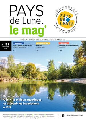 Pays de Lunel le mag' 153 de novembre 2020