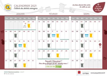 Télécharger le calendrier de St-Just et St-Nazaire, hors centre ville
