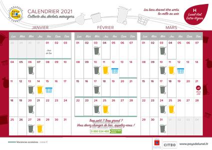 Télécharger le calendrier de Lunel-Viel et Entre-Vignes, hors centre ville