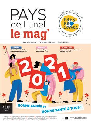 Pays de Lunel le mag' 155 de janvier 2021