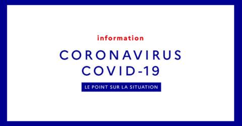 Covid19 : mesures en vigueur