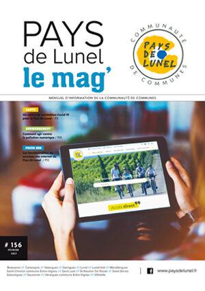 Votre Pays de Lunel le mag' n° 156 de février 2021