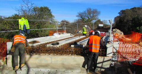 Voie verte Lunel/ Marsillargues : remise en service du pont de l'avenue Roger SALENGRO au Pays de Lunel