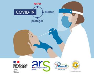 Campagne de dépistage Covid-19 sur le Pays de Lunel