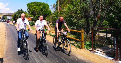 Mise en service de la voie verte Lunel-Marsillargues au Pays de Lunel