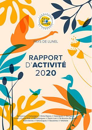 Rapport d'activité du Pays de Lunel pour l'année 2020