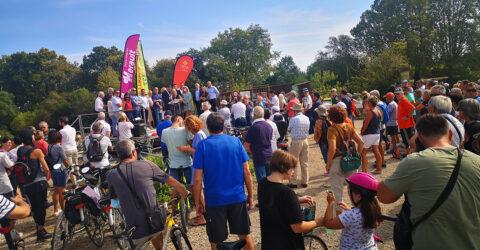 Le 18 septembre 2021, le Pays de Lunel inaugurait la voie verte reliant Lunel à Marsillargues