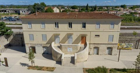 """La Preuve par 7 ouvre une permanence architecturale sur le Pays de Lunel, et porpose une """"garden parvis le 29 septembre à la gare de Lunel"""