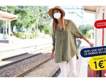 Billets de train à 1 euros les week-end de septembre.